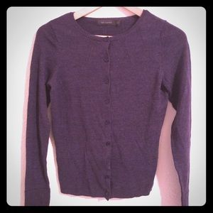 The Limited Purple Cardigan Size S